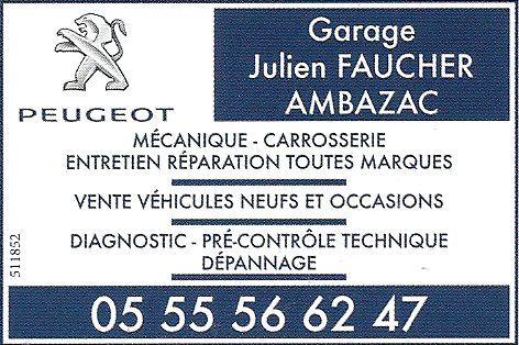 Garage Julien Faucher Ambazac