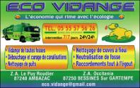 Eco Vidange Ambazac