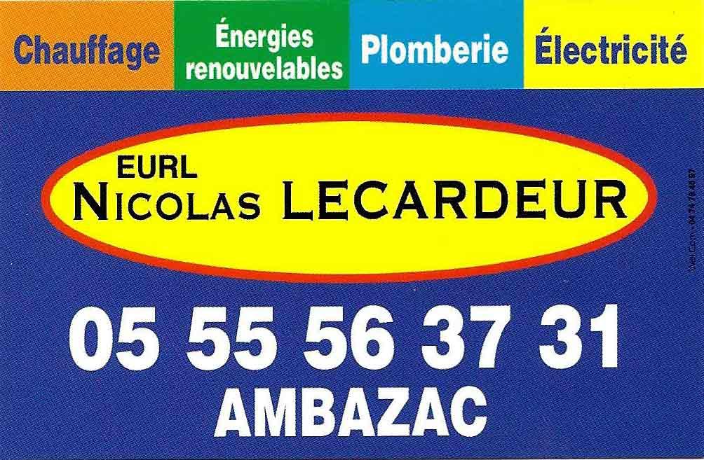 Nicolas Lecardeur Ambazac