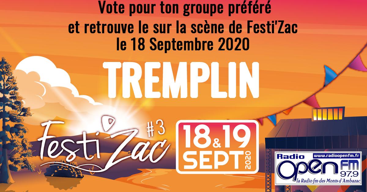 tremplin festi'zac 2020